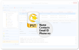 preview all items of pst file with precise details